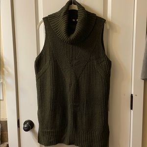 Anthropologie Moth Sleeveless Tunic Sweater